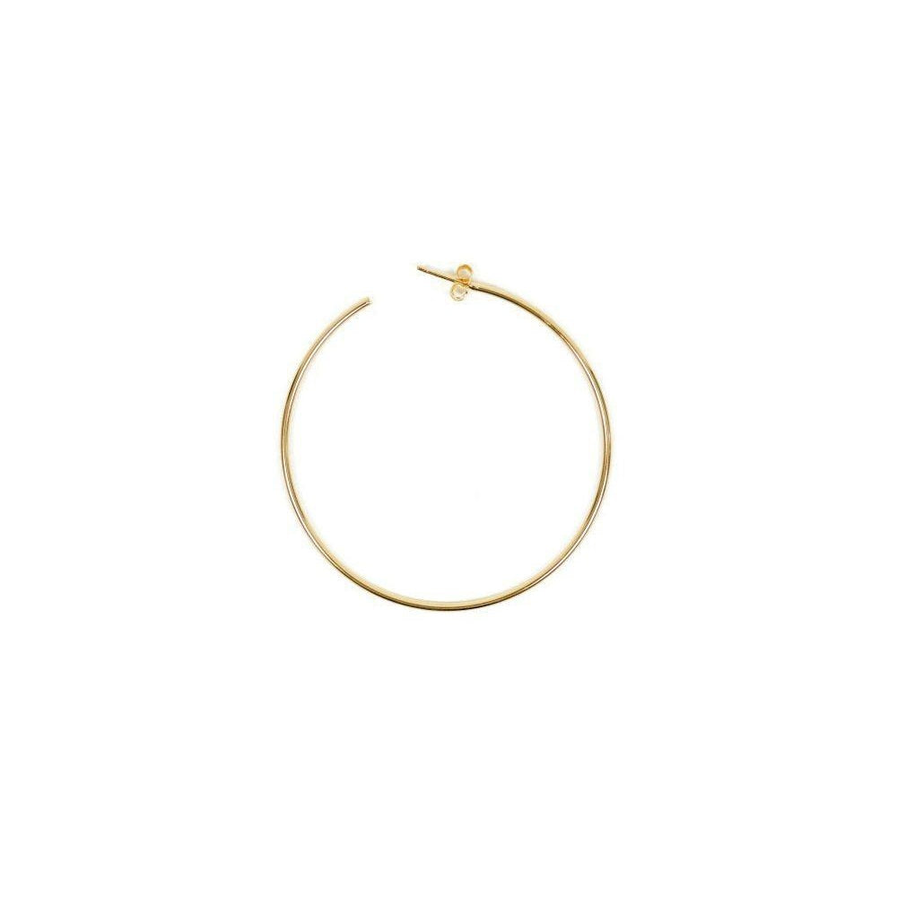 Loulerie Single Hoops 18K Gold Plate