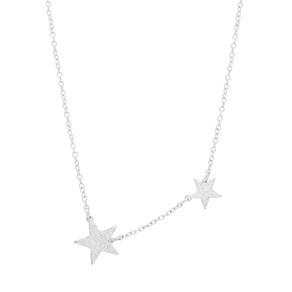 Gorjana Silver Brass Super Star Necklace