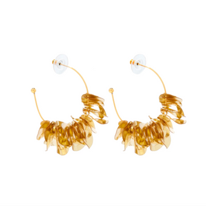 MIGNONNE GAVIGAN GOLD MINI LOLITA HOOP EARRINGS