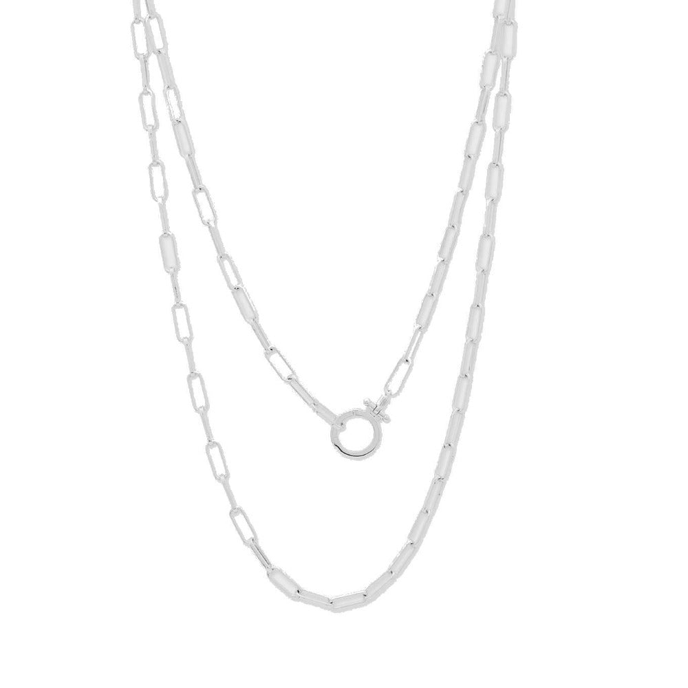 GORJANA SILVER PARKER WRAP NECKLACE