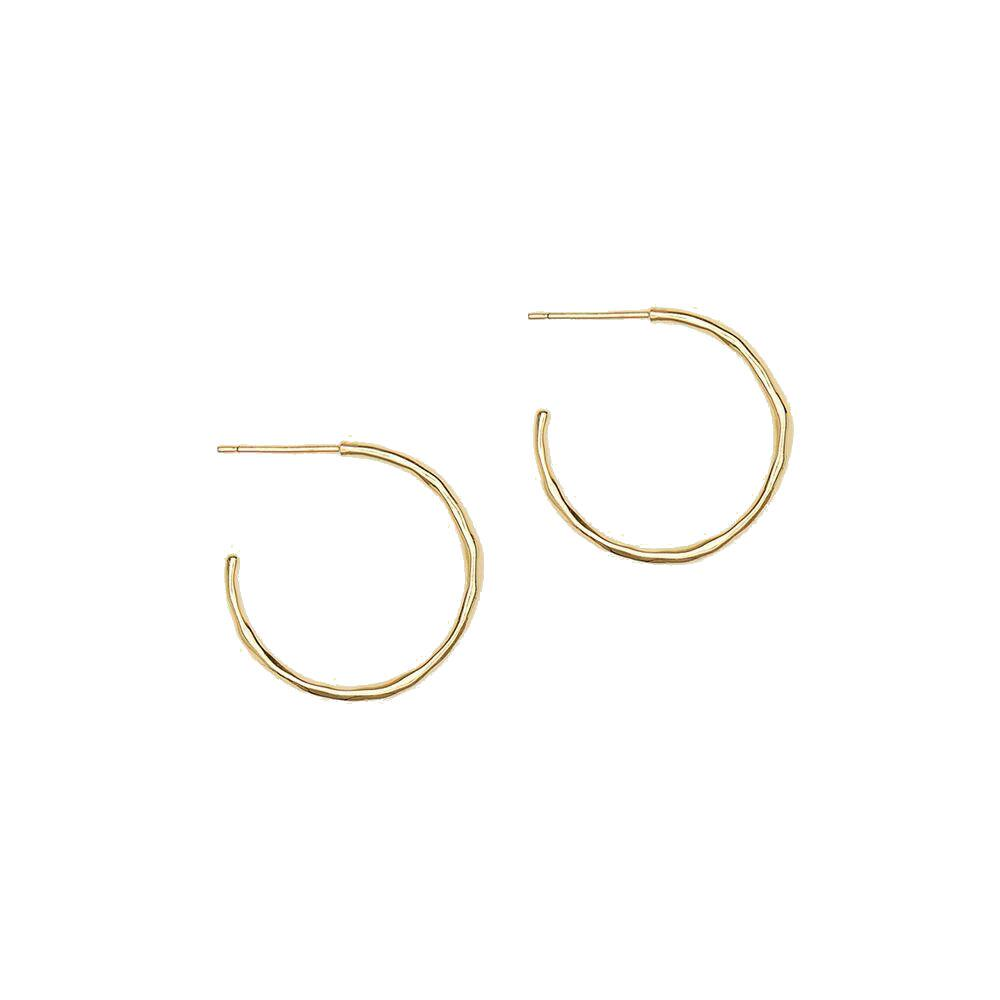 Gorjana Small Taner Hoop Earrings | 18K Gold Plate