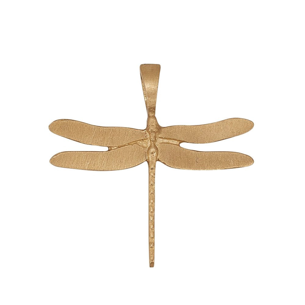 Loulerie 9k Gold Dragonfly Charm