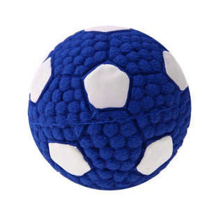 Pet Dog Rubber Toy Sound Squeaker Football/Volleyball/Rugby Balls Toys for Pet Puppy Dog Teeth Training Supplies