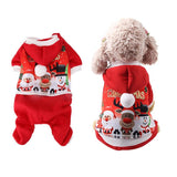 Christmas Pet Puppy Hoodies Sweatshirts Dog Clothes Coat For Chihuahua Small Dogs Coat Animals Clothing Pet Products