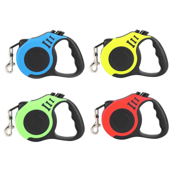 3/5m Durable Dog Leash Automatic Retractable Dog Pets Leash Cat Puppy Auto Traction Lead Rope Dogs Pet Supplies
