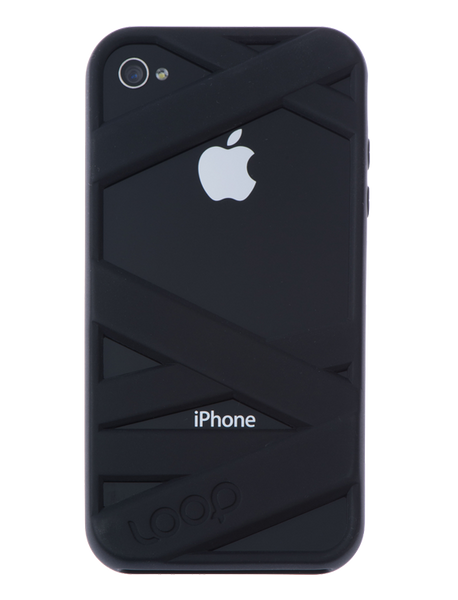 Black Mummy on Black iPhone