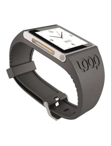 Graphite Loop Watch Band