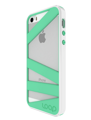 Mint/White Straitjacket for iPhone 5/5s
