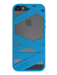 Neon Blue Mummy iPhone 5s Space Gray