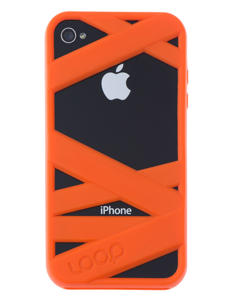 Orange Mummy on Black Phone