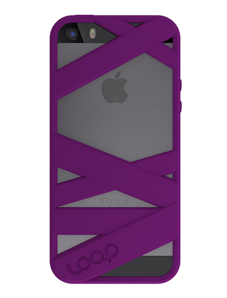 Purple Mummy iPhone 5s Space Gray