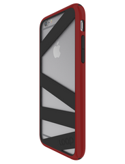 Red/Black Straitjacket for iPhone 6