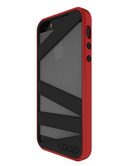 Red/Black Straitjacket for iPhone 5/5s
