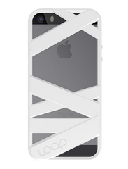 White Mummy iPhone 5s Space Gray