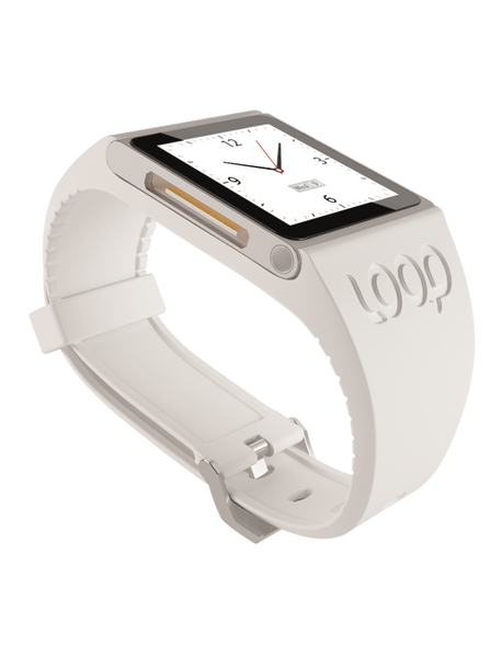 White Loop Watch Band