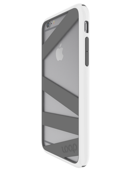 White/Gray Straitjacket for iPhone 6