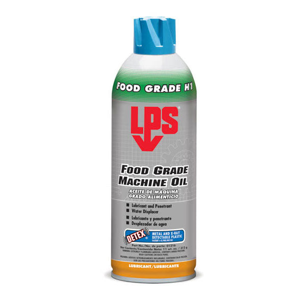 LPS Food Grade Machine Oil with Detex - 16oz. | 01316