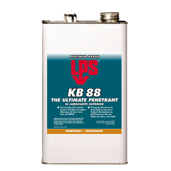 LPS KB-88 The Ultimate Penetrant - 1 Gallon | 02301