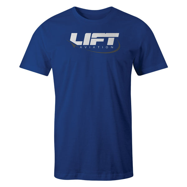 LIFT Aviation - Corporate Tee - Blue