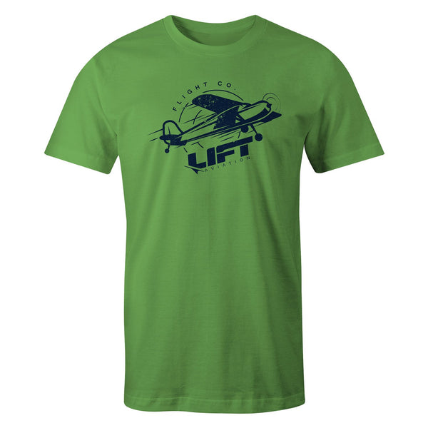 LIFT Aviation - Piper Tee - Lime