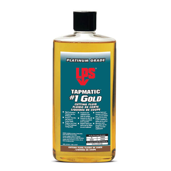 LPS Tapmatic Gold Cutting Fluid - 16fl. oz. | 40320