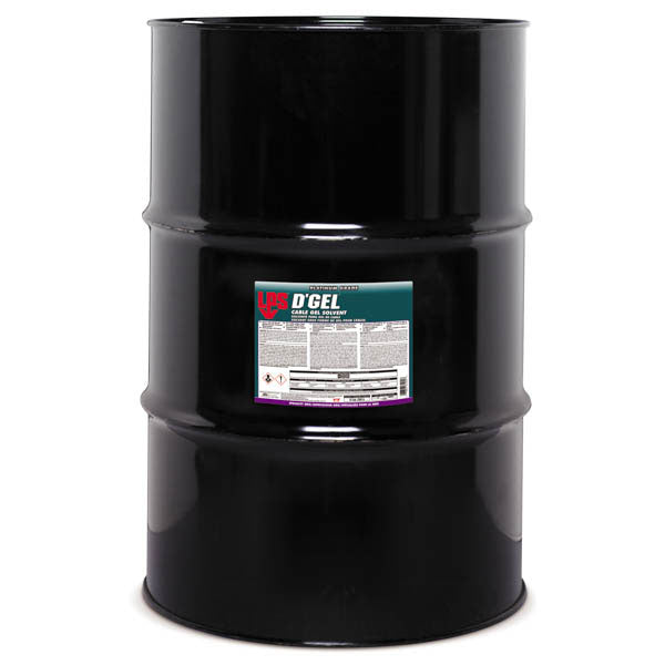 D'Gel Cable Gel Solvent - 55 Gallon | 61255