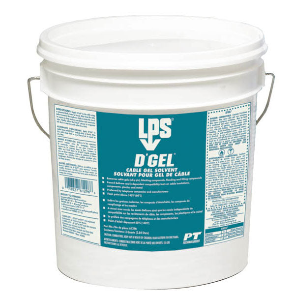 D'Gel Cable Gel Solvent - 3 Quart | 61296