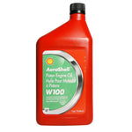 Aeroshell - W100 (SAE 50) Single Grade Ashless Dispersant Piston Oil