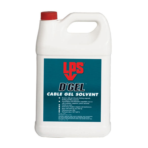 D'Gel® Cable Gel Solvent 1 Gallon | 61201