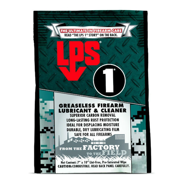 LPS - Greaseless Lubricant Weapon Wipe | 00144