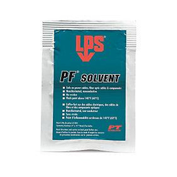 "LPS PF Solvent Wipes 8""x11"" 