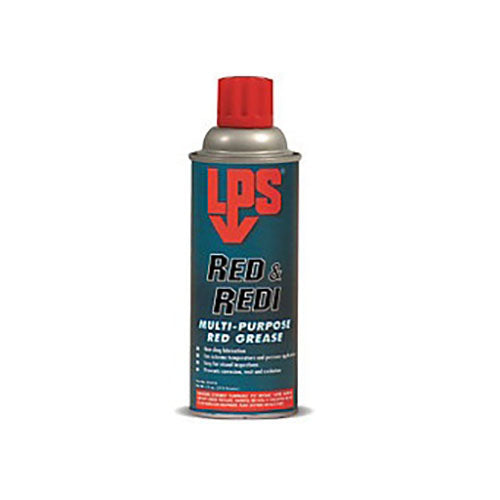 LPS Red and Redi Multi Purpose Red Grease 11oz | 05816