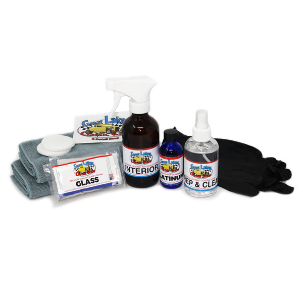 Great Lakes Detail Shop - High Gloss Platinum 9H Level 3 Ceramic Nano Coating Kit