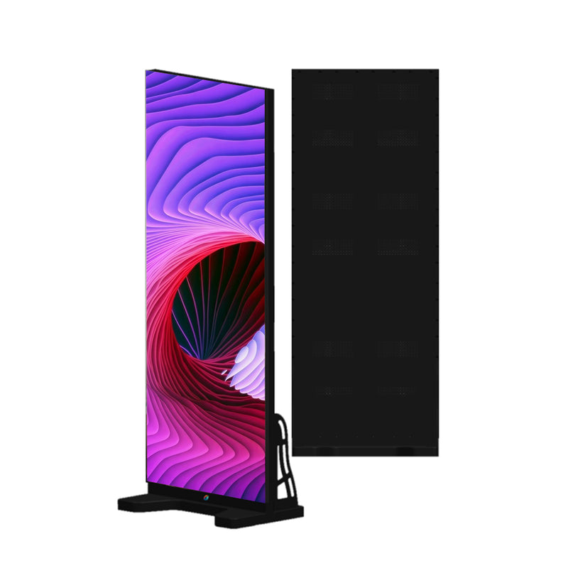EPOG Series Frameless Outdoor LED Poster Display with GOB Protective Front/Black All in IP65 with 2.6 | 2.9mm Pixel Pitch in 500x1750mm Small Display Area