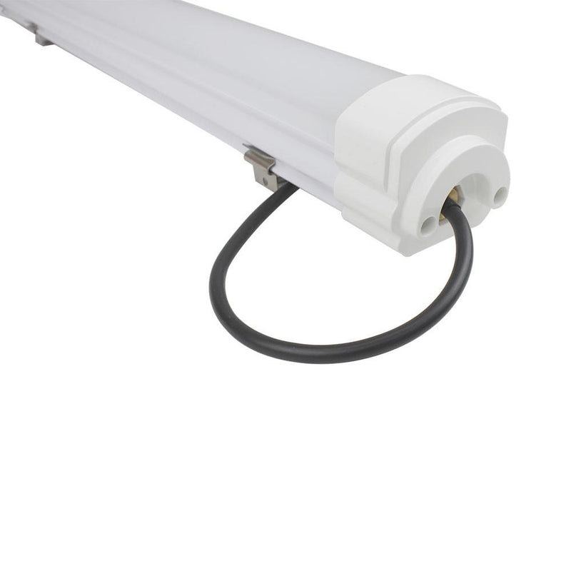 Weatherproof IP65 Non-dimmable LED Linear Batten 2FT / 3FT / 4FT / 5FT in Aluminum + PC Housing- Model A