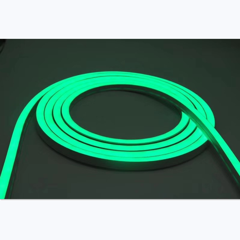 1M/5M/10M/20M Pack of T1616 LED Neon Light Housing Kit with End Caps and Mounting Clips, Flexible Neon Channel Fit for 10/12 Wide LED Strip Lights