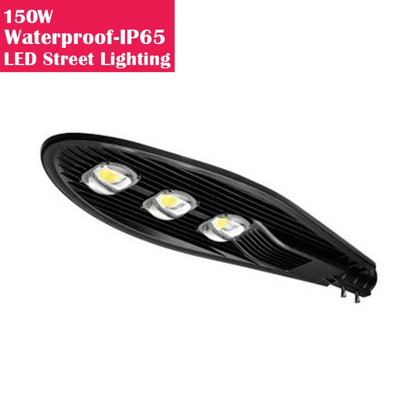 150W IP65 Waterproof LED Pole Light for LED Street Lighting Pure White 6500K