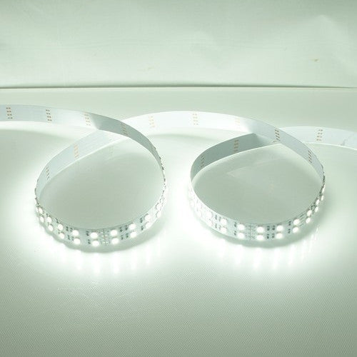 DC 12V Dimmable SMD5050-600 Double Row Flexible LED Strips 120 LEDs Per Meter 15mm Width 1800lm Per Meter