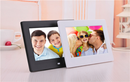 Free Shipping 7 Inch Digital Photo Frame Andriod WiFi LCD Digital Signage Player with 16:9 High-Resolution HD Touch Screen Optional