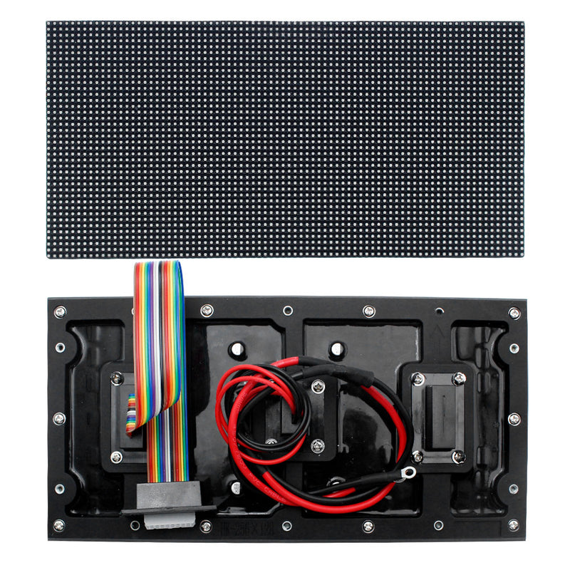 New Generation M-WF2L P2 (2mm) Outdoor Waterproof LED Module, 2mm Small Pixel Pitch Full RGB LED Panel Screen in 320* 160 mm with 12800 dots, 1/32 Scan, 4500 Nits For Outdoor Display