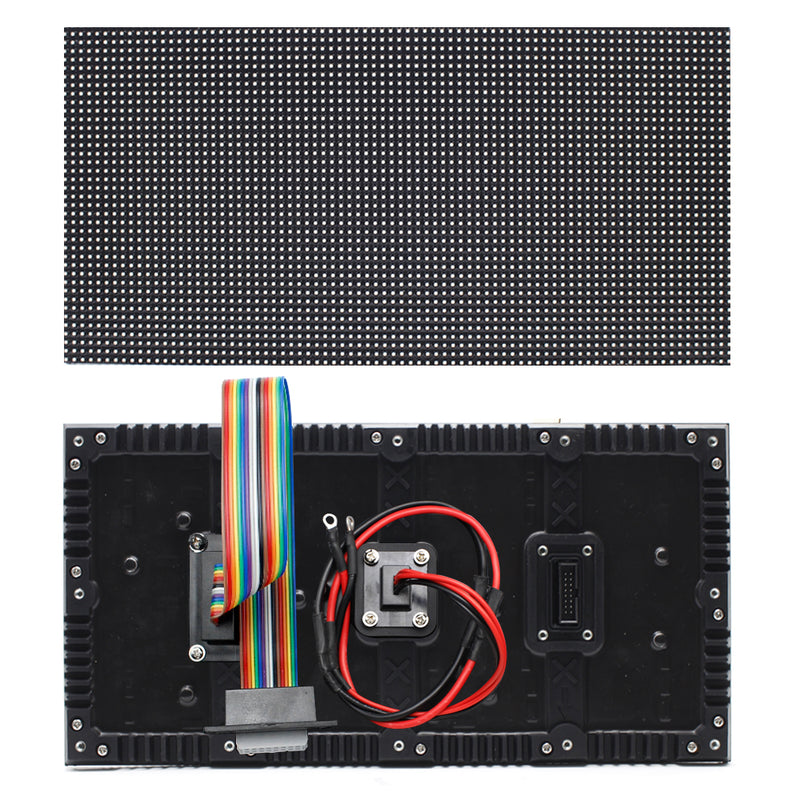M-WF4L P4 (4mm) Outdoor Waterproof Flexible LED Module Display 4mm Pixel Pitch Full RGB LED Panel Screen in 320 *160 mm w/ 8192 dots 24 Scan 4500 Nits For Outdoor Display