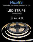 LED Flexible Strip Lights - White Color
