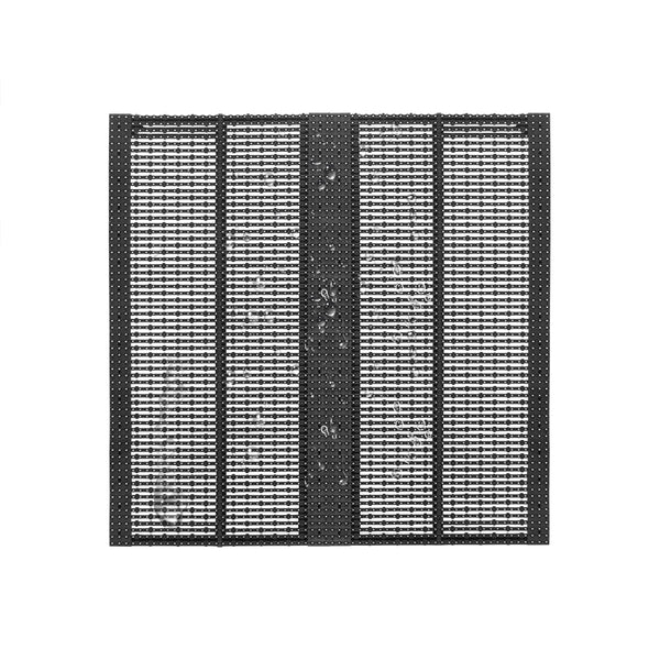 oClear Pro Series Outdoor Waterpoof P15.6/15.6mm Transparent LED Mesh Display High Brightness 6800nits in Size 1000x1000mm Aluminum Cabinet for Fixed Installation