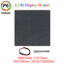 M-ID6 P6 Normal Indoor Series LED Module, Full RGB 6mm Pixel Pitch LED Display Tile in 192*192mm with 1024 dots, 1/16 Scan, 800 Nits for indoor Display