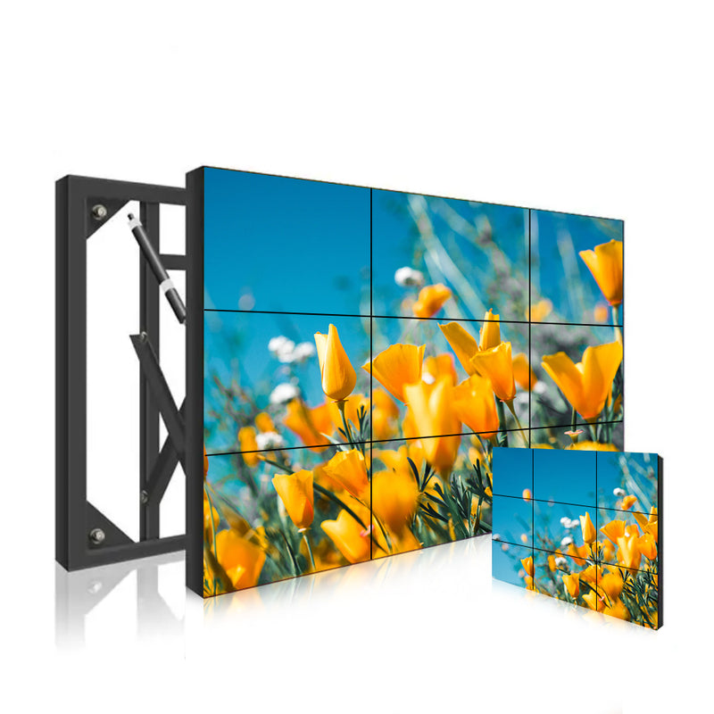 65'' LCD Video Wall,SAMSUNG Panel, 700nit Monitor,HD 2K (1920x1080)/ UHD 4K (3840x2160) Resolution TV Display