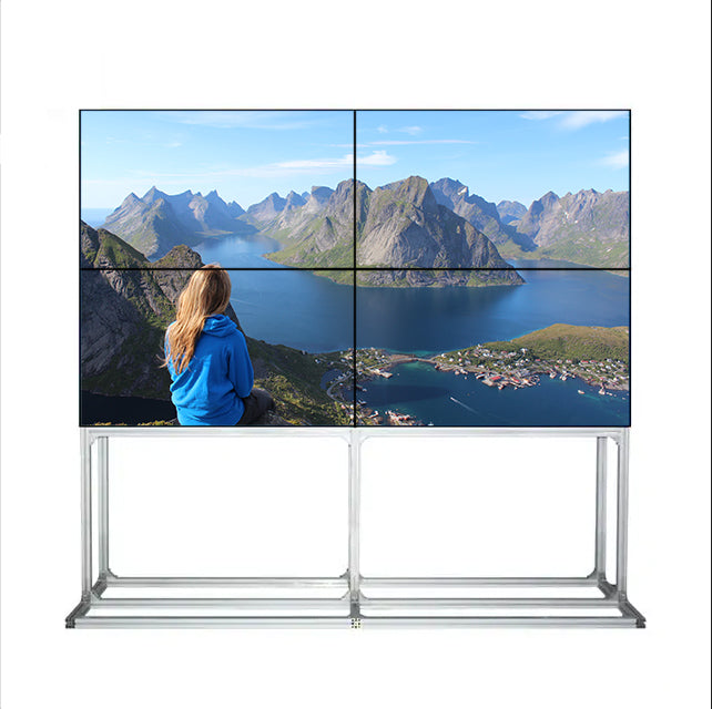 55'' LCD Video Wall,BOE Panel, 500nit Monitor,HD 2K (1920x1080)/ UHD 4K (3840x2160) Resolution TV Display