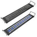 22.04'' Aquarium LED Light for Freshwater Fish Tank w/ Extendable Bracket, White Blue LED