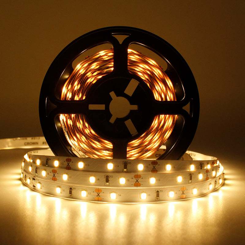 16.4Feet (5Meter) SMD2835 300LED 12VDC 30Watt True Color CRI95+ High Color Accuracy LED Flexible Strip Light that Produce Full Spectrum Natural Light