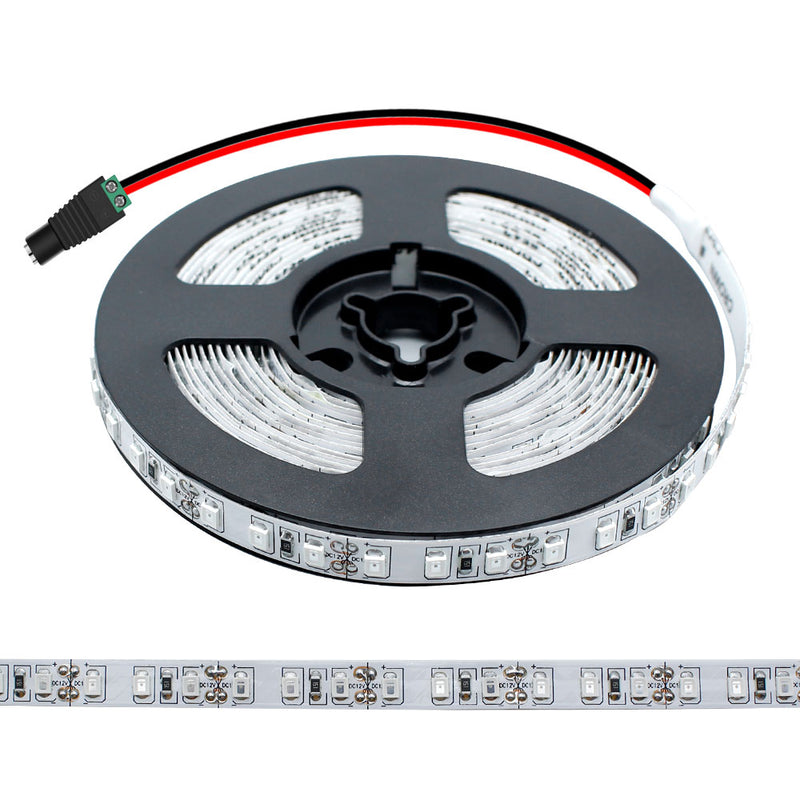 365nm 370nm SMD3528-600 12V 4A 48W UV LED Strip Light Ideal for Curing Currency Validation