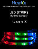 LED Flexible Strip Lights - RGB/RGBW Color